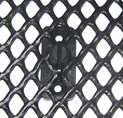 Hailguard with Netting Fastener